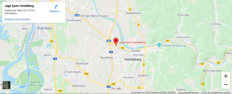 Jagd Sport Heidelberg Anfahrt
