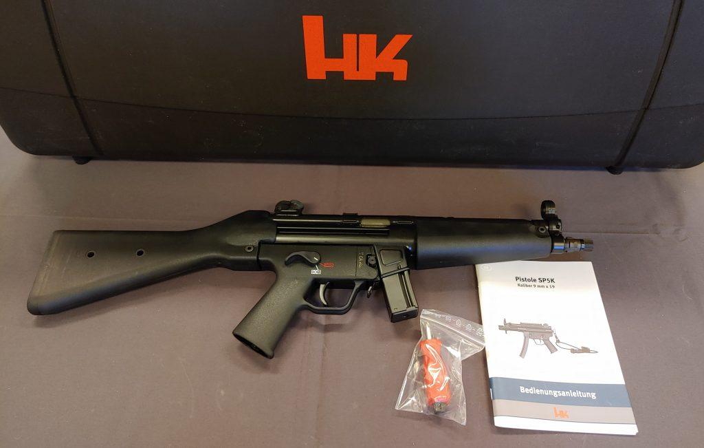 JSHD Waffenladen – Ihr Waffengeschäft für Jagd und Sport- Waffen in Heidelberg » Heckler & Koch SP5